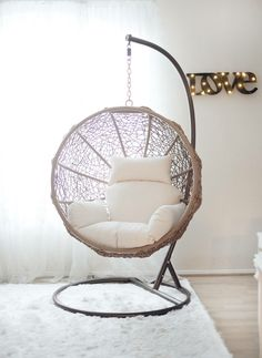 Hanging Swing Chair for Bedroom. Hanging Swing Chair for Bedroom. Indoor Swing Chairs Inspirations for Your Home Decor