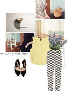 """My Summer Internship"" by miki-magpie on Polyvore"