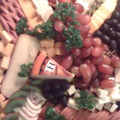 TUC cheese platter.made by Teresa Miller