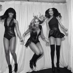 Destiny's Child! The #BeyonceConcert was amazing!