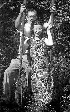 Simone de Beauvoir and Nelson Algren, Chicago, 1951 <3