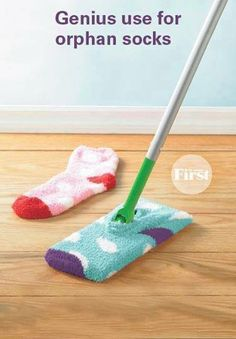 The best DIY projects & DIY ideas and tutorials: sewing, paper craft, DIY. Ideas About DIY Life Hacks & Crafts 2017 / 2018 Best DIY Hacks for The New Year - Genius Use For Orphan Socks - Easy Organizing and Home Improvement Ideas Diy Hacks, Organizing Hacks, Cleaning Hacks, Cleaning Supplies, Home Hacks, Diy Cleaners, Cleaners Homemade, Household Cleaners, House Cleaning Tips