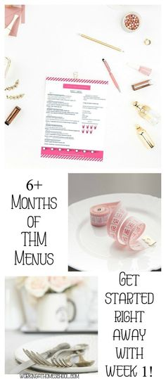 TONS of meal plans and shopping lists for THM! Tons of gluten-free, Trim Healthy Mama menus that are family-friendly and delicious!