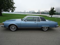 1981 Oldsmobile Ninety-Eight - this was my first car. I wish I still had it.