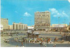 Berlin DDR in den 70ern Haus des Lehrers am Alexanderplatz