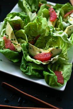 grapefruit and avocado salad // hands down my favorite salad ever!
