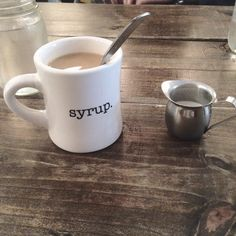 Syrup maybe closed for the day but that doesn't mean you can't make brunch plans for tomorrow!