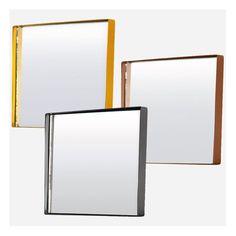 Square Spegel 30x30cm, Svart, House Doctor