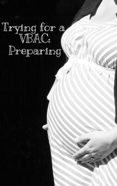 Trying for a VBAC: Preparing By Bare Feet on the Dashboard