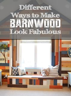 Different Ways to Make Barnwood Look Fabulous