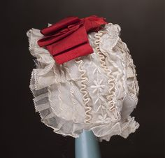bru steiner bebe doll original accessories | Antique Original Lace Bonnet for Jumeau Bru Steiner Eden Bebe doll ...