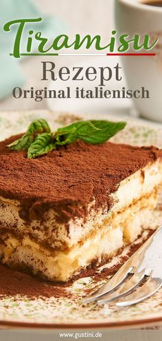 Extra creamy, extra Italian – here's the delicious original recipe for classic tiramisu. Extra creamy, extra Italian – here's the delicious original recipe for classic tiramisu. Dessert Recipes For Kids, Dessert Cake Recipes, Healthy Dessert Recipes, Smoothie Recipes, Tiramisu Dessert, Fruit Dessert, Pumpkin Dessert, Homemade Desserts, Easy Desserts