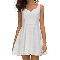 208 White Dress, Summer Dresses, Mini, Women, Fashion, Moda, Summer Sundresses, Fashion Styles, Fashion Illustrations