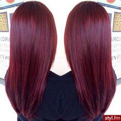 Long, red hair. #Hair #Beauty #Redheads Kinda looks like mine...