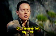 Funny scene in Star Wars the last Jedi between Rey and Luke