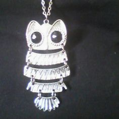 BUY 2 GET 1 FREE SALE Owl Necklace Long chained large owl necklace. Very good condition. Questions welcome. Jewelry Necklaces
