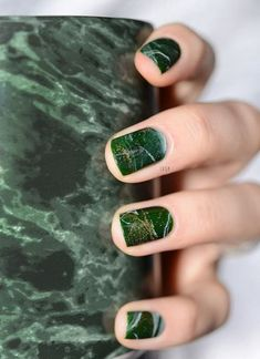 Water Marble Nails 02071632