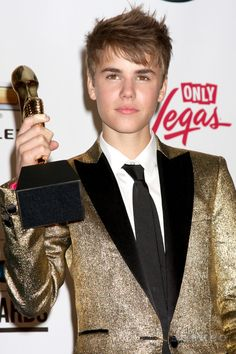 Justin Bieber in the Press Room of the 2011 Billboard Music Awards at MGM Grand Garden Arena on May 22, 2010 in Las Vegas, NV