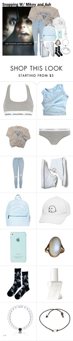 """""""~you're all I need and more~"""" by boobear1707 ❤ liked on Polyvore featuring Calvin Klein Underwear, adidas, Columbia, River Island, Keds, Sugarbaby and Essie"""