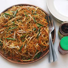 Stir-Fried Chow Mein with Four Vegetables Recipe Chinese Vegetables, Mixed Vegetables, Veggies, Chow Mein, Chow Chow, Indian Food Recipes, Asian Recipes, Ethnic Recipes, Chinese Recipes