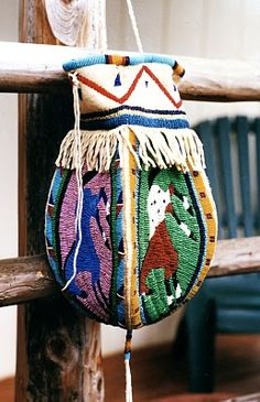 One of Angela's horse bags.