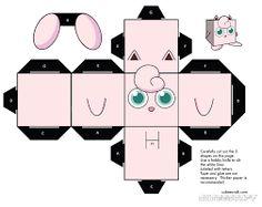 Resultado de imagen para papercraft pokemon para armar
