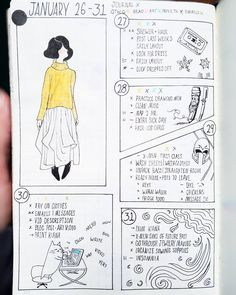 """39 Likes, 8 Comments - Amanda O'Brien Balsbaugh (@raindoodlie) on Instagram: """"Bullet Journal 