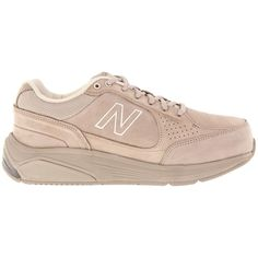 New Balance WW928 ($130) ❤ liked on Polyvore featuring shoes, athletic shoes, sneakers, tan, new balance footwear, wide shoes, new balance shoes, tan shoes and walking shoes