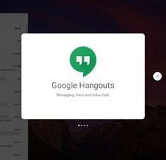 Google Hangouts: Estrena Website - Web