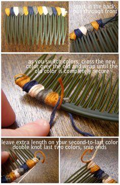 DIY: Hair Comb