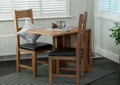 Hampshire Gate Leg Table Set With 2 Vancouver Dining Chairs Dining Furniture, Home Furniture, Dining Bench, Outdoor Furniture Sets, Dining Chairs, Dining Sets, Home Insurance Quotes, Solid Oak, Hampshire