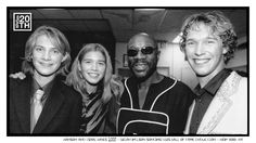 Photo 188 of 365  HANSON and Isaac Hayes 2000 - Brian Wilson Songwriters Hall of Fame Induction - New York NY    Here we are with the late great Isaac Hayes after we performed at Brian Wilson's induction to the Songwriters Hall of Fame in 2000. Amongst many other things, Isaac Hayes was one of the creative influences behind the legendary Stax Records. Do you own any albums by Stax artists? Tell us about your favorite.    #Hanson #Hanson20th