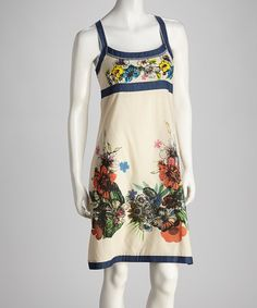 <p+style='margin-bottom:0px;'>Move+away+from+mainstream+with+a+piece+that's+packed+with+personality.+This+dress+flaunts+a+colorful+floral+illustration,+making+for+one+original+ensemble.<p+style='margin-bottom:0px;'><li+style='margin-bottom:0px;'>Measurements+(size+M):+38''+long+from+high+point+of+shoulder+to+hem<li+style='margin-bottom:0px;'>98%+cotton+/+2%+elastane<li+style='margin-bottom:0px;'>Hand+wash<li+style='margin-bottom:0px;'>Imported<br+/>