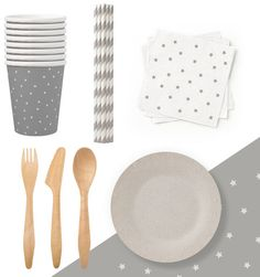 Sustainable, environmentally friendly tableware by Susty Party
