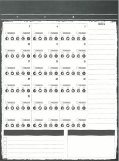 Workflow Wednesday: How I use the Printable Charm Planner Pack
