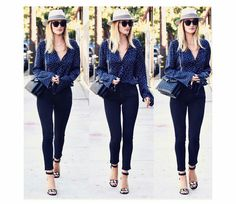 Best of the week: Rosie Huntington-Whiteley, Bulgari's Accessories Ambassador, complements a sleek daytime ensemble with a bag. Regram from Paola Style, Summer Outfits, Casual Outfits, Inspirational Celebrities, Rosie Huntington Whiteley, French Chic, Red Carpet Fashion, All About Fashion, Daily Fashion