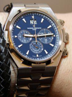 Vacheron Constantin Overseas Chronograph Blue Dial Watch Hands-On