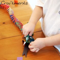Craftiments: Chinese New Year Snake Craft Reptile Crafts, Snake Crafts, Dragon Crafts, New Year's Crafts, Holiday Crafts, Crafts For Kids, Arts And Crafts, Paper Crafts, Chinese New Year Activities
