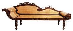 Divan, c.19th Century Cane Furniture, Wood Furniture, Furniture Ideas, Furniture Design, Antique Chairs, Antique Furniture, Filipino Interior Design, Old House Design, Bahay Kubo