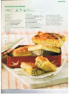 Revista bimby pt-s02-0035 - outubro 2013 My Kitchen Rules, Kitchen Time, Empanadas, Portuguese Recipes, Perfect Food, Food Inspiration, Meal Prep, Brunch, Healthy Recipes