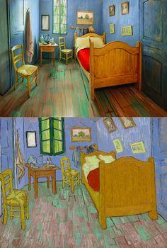 Cuadros de Van Gogh en versión realista y 3D