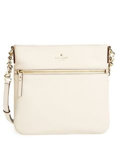 Kate Spade Cobble Hill Crossbody Bag in Pebble: The perfect cream color for spring