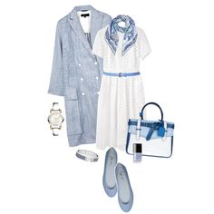 Clear Skies, Slight Breeze by maxfield on Polyvore