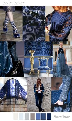 BLUE VELVET by PatternCurator