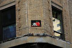 Invader #bestofstreetart #graffiti #urbanart #graffitiart #originalstreetart #freewalls #streetart #invader
