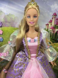 Image result for barbie as rapunzel doll