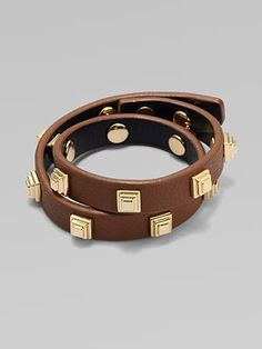 Tory Burch Stacked Wrap Bracelet