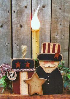 Americana Trio Light, Patriotic & 4th of July Crafts