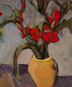 "Lisa Noonis, ""Gladiolus"" - 24x20, oil on canvas--at Principle Gallery"