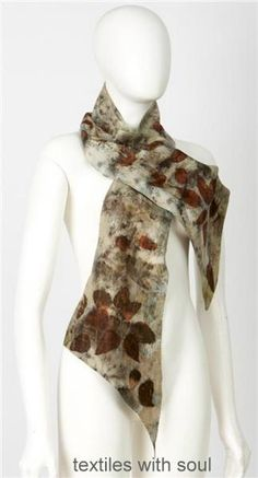 This is a sample of one of my signature print scarves